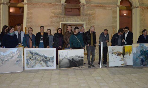Albudeite y Mula, plasmados en los lienzos de los participantes del VI y XI Concurso Nacional de Pintura al Aire Libre