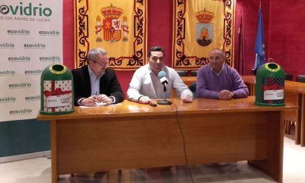 """Ecovidrio pone en marcha en Bullas la campaña """"Sé solidario, haz el mejor regalo"""" durante las Fiestas de Navidad"""