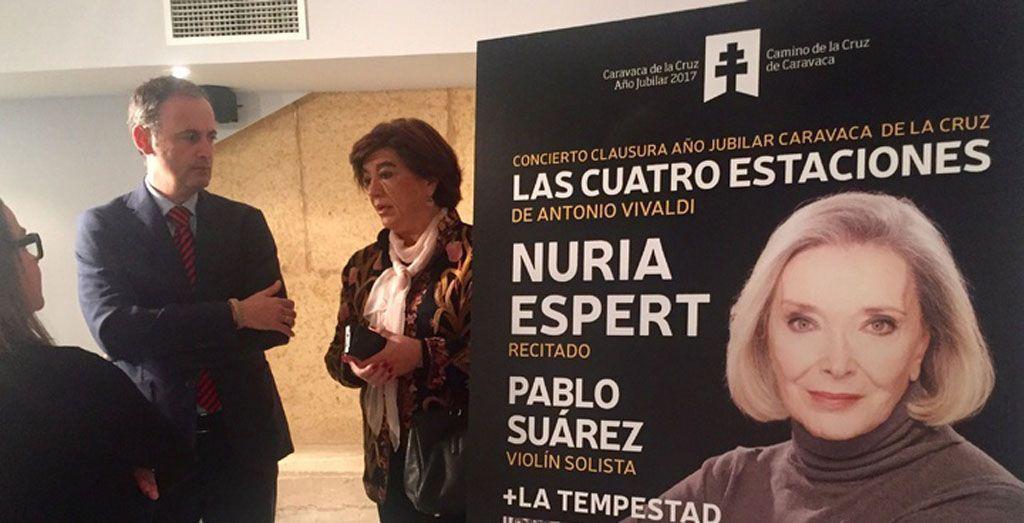 'La Tempestad' y Nuria Espert clausurarán el Año Jubilar 2017 con los conciertos y sonetos de 'Las cuatro estaciones' de Vivaldi