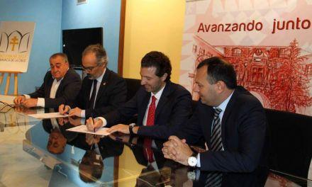 El Ayuntamiento de la Caravaca y la Federación del Metal suscriben un convenio para que personas desempleadas accedan a formación específica del sector