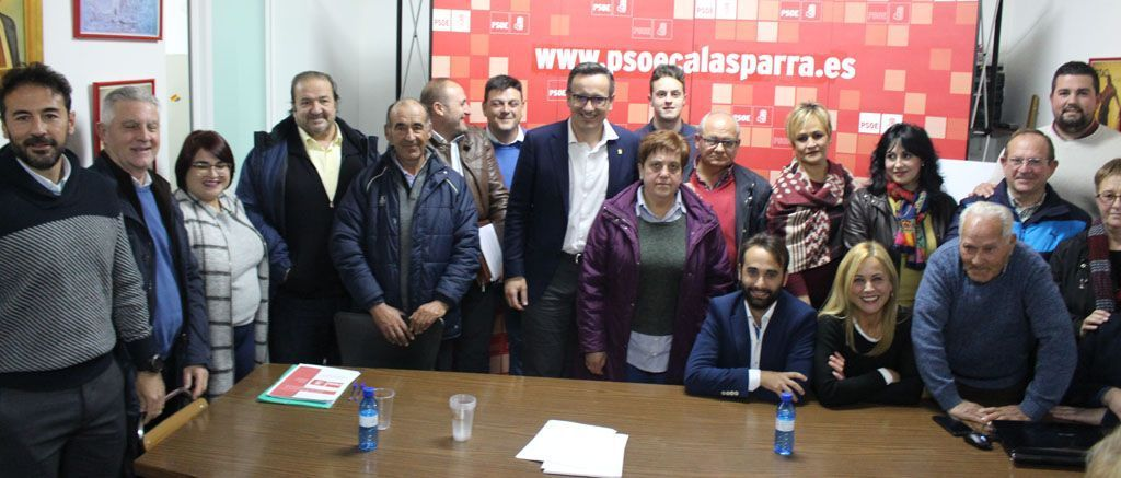 Antonio José Moreno Gil, secretario general del PSOE de Calasparra