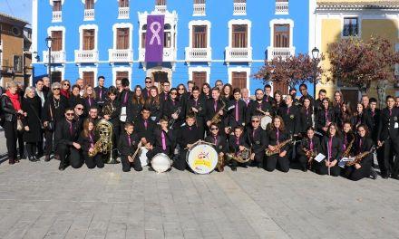 Como marca la tradición la Banda Villa de Bullas recoge a sus nuevos músicos por Santa Cecilia