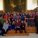 El Ayuntamiento de Caravaca abre sus puertas a los escolares con motivo del 'Día de la Constitución'
