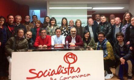 La Agrupación Socialista de Caravaca de la Cruz ratifica a José Moreno como Secretario General