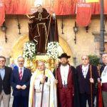 La Hermandad de Romeros de San Ginés peregrina a Caravaca, con la imagen de su titular, patrón de Cartagena