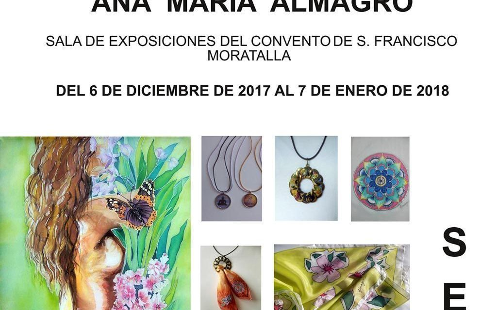 """Las """"joyas"""" de seda de Ana María Almagro se exponen en Moratalla"""