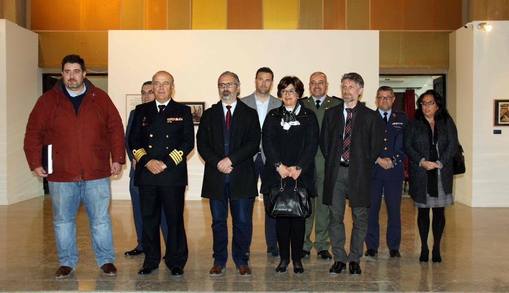 La Compañía de Jesús de Caravaca acoge hasta el 16 de febrero la exposición 'Hombres y barcos: la fotografía de la Marina Española'