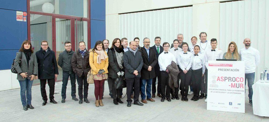 Jesús Amo participó en la presentación del proyecto del Centro de Cualificación Hostelero y Gastronómico del Noroeste