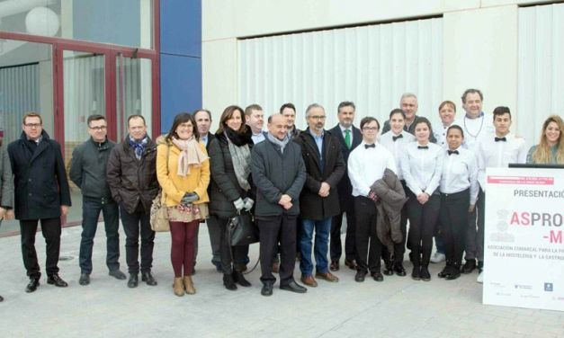 Asprocomur presenta el proyecto del Centro Cualificación Hostelero y Gastronómico, con sede en Caravaca