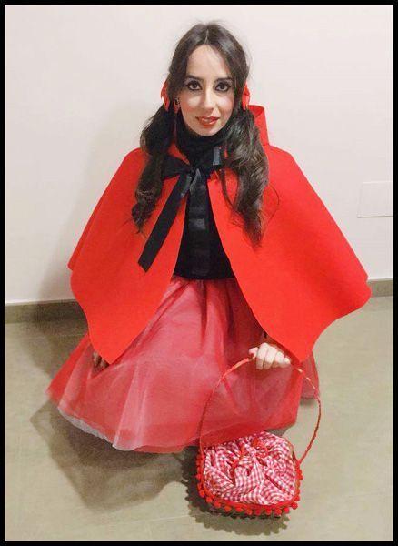 Leticia Rico como Caperucita Roja