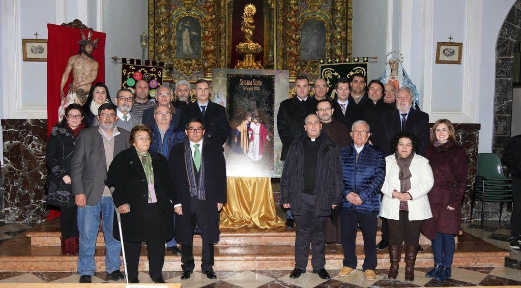 La Cofradía de la Pasión de Cristo realiza el cartel anunciador de la Semana Santa de Cehegín 2018