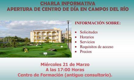 Campos del Río abre el nuevo Centro de Día para mayores y dependientes