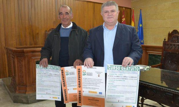 Cursos gratuitos en Calasparra para el sector agrícola impartidos por la UPA y FECOAM
