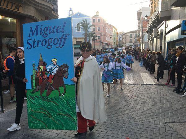 Carnaval inspirado en Las Pedreras