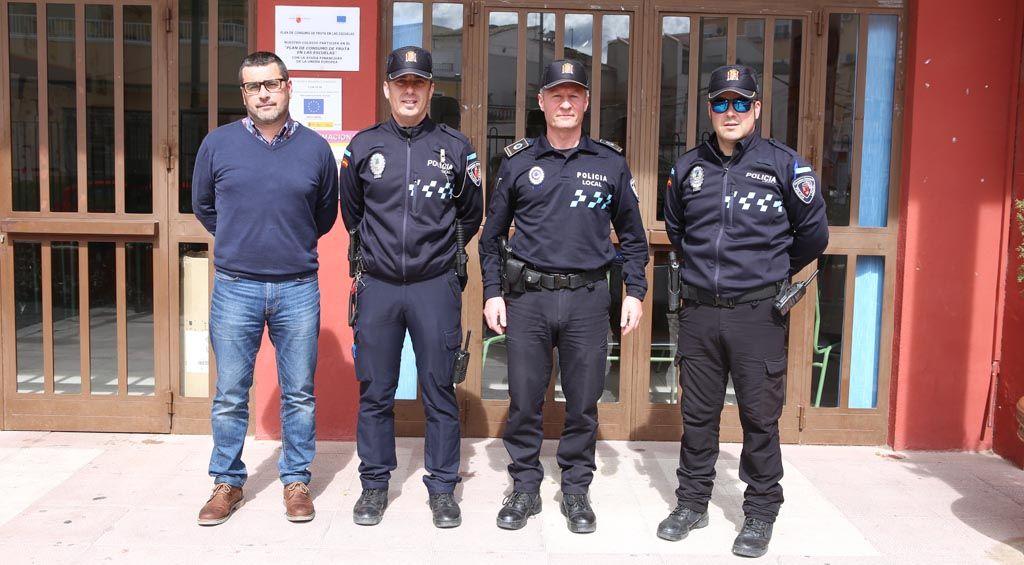 El programa «Policía Tutor de Cehegín» se entrena en las redes sociales