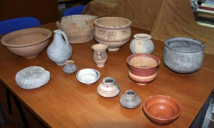 El Museo Arqueológico 'La Soledad' de Caravaca recupera cerca de 20 piezas ibéricas que fueron robadas en 2014