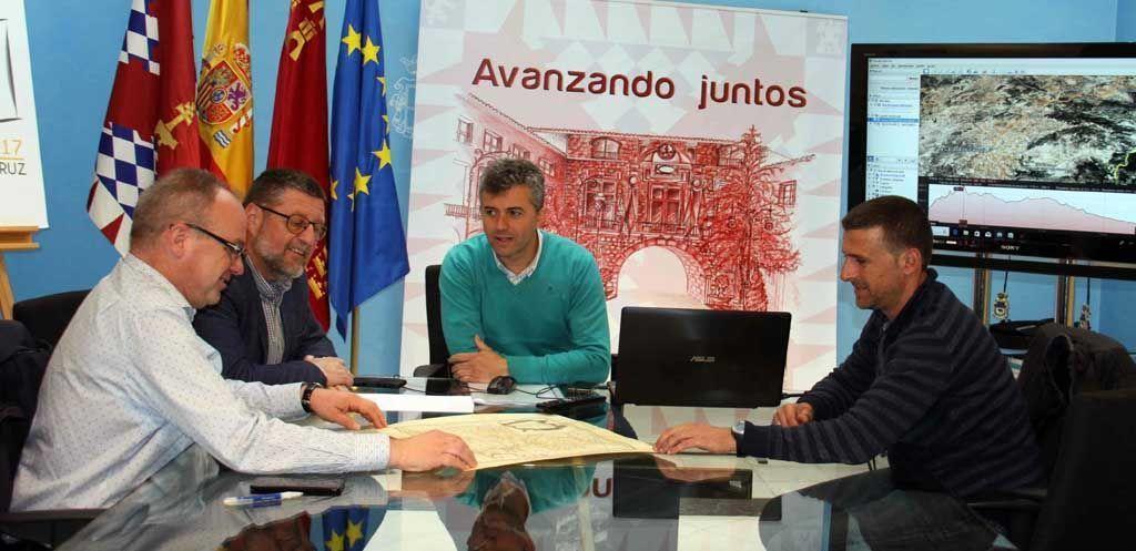 Los ayuntamientos de Caravaca y Vélez Blanco trabajan en la puesta en valor del 'Camino de los Vélez', vía histórica de peregrinación que une ambos municipios