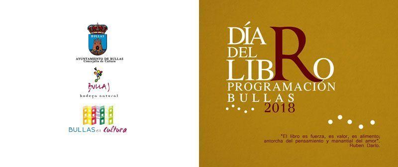 Presentada la Programación para conmemorar el Día del Libro en Bullas