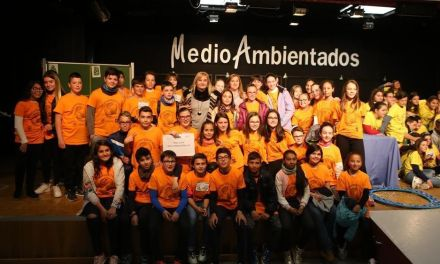 """El colegio """"Ciudad de Begastri"""" gana el concurso 'Medioambientados' en el que han participado los colegios de Cehegín"""
