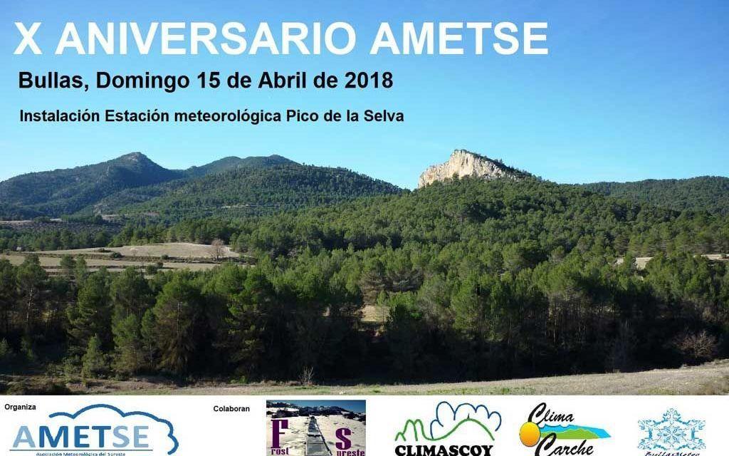AMETSE celebrará su décimo aniversario instalando la estación meteorológica a mayor altitud de la región