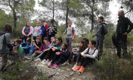 """La ultima actividad del proyecto """"Cehegín y su entorno"""", acerca la naturaleza a los escolares de la localidad"""