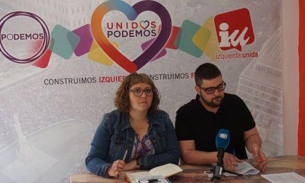 IU-Verdes pide al Equipo de gobierno una hoja de ruta sobre el futuro de Caravaca Jubilar