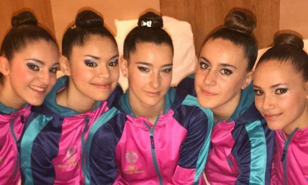 Las gimnastas del Club Rítmica Ciudad de Cehegín obtienen un primer puesto y dos segundos en el Campeonato Regional