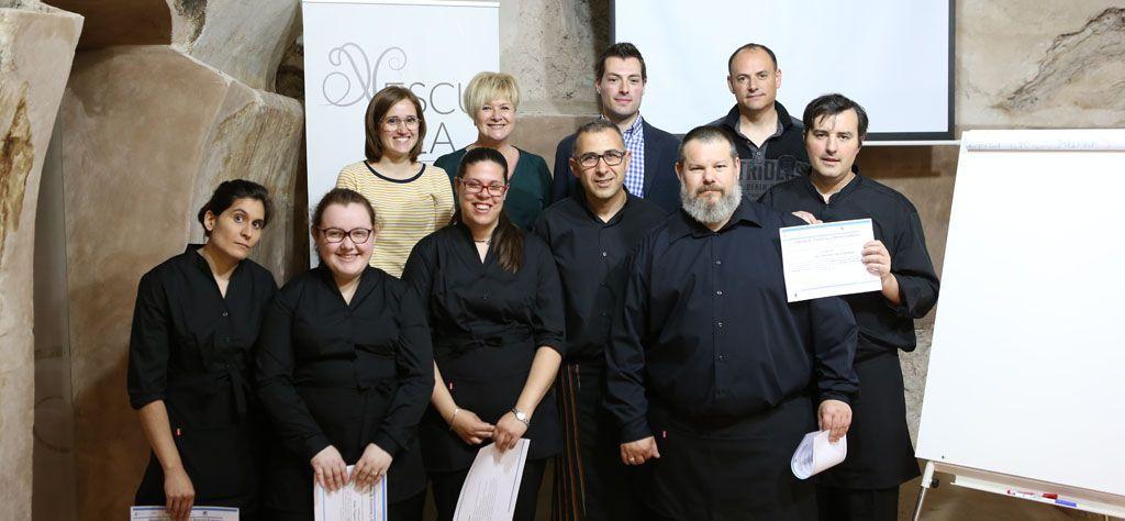Entregados los diplomas del curso «Servicios de bar y cafetería», destinado a desempleados
