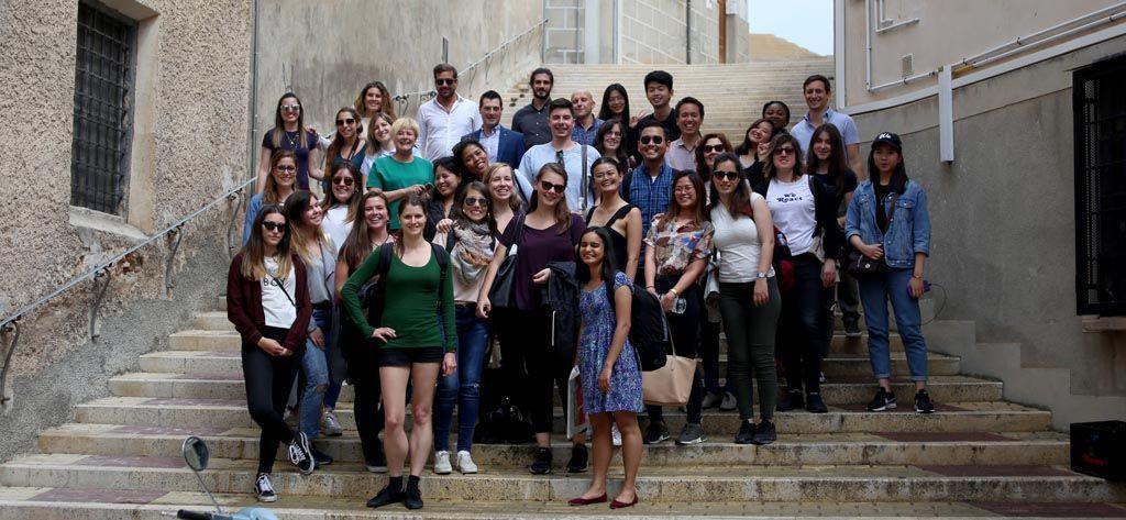 Alumnos de Turismo de la UCAM analizan el potencial del Casco Antiguo de Cehegín