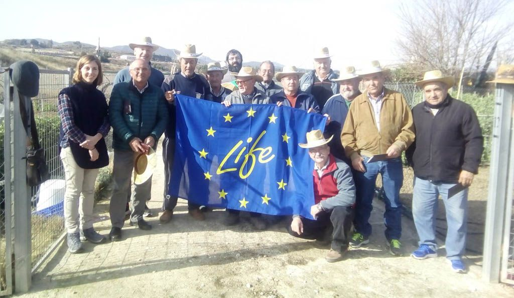 El Ayuntamiento de Bullas colabora con el Proyecto Life Sarmiento