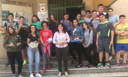 Alumnos del IES D. Pedro García Aguilera, segundos en el II Concurso regional de Cristalización en la Escuela