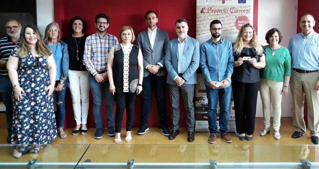 La Comunidad digitaliza documentos históricos de Mula y Bullas dentro del Proyecto Carmesí