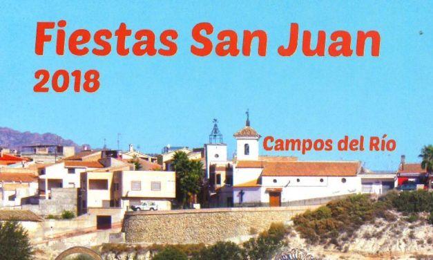 Campos del Río comienza esta noche las Fiestas de San Juan 2018