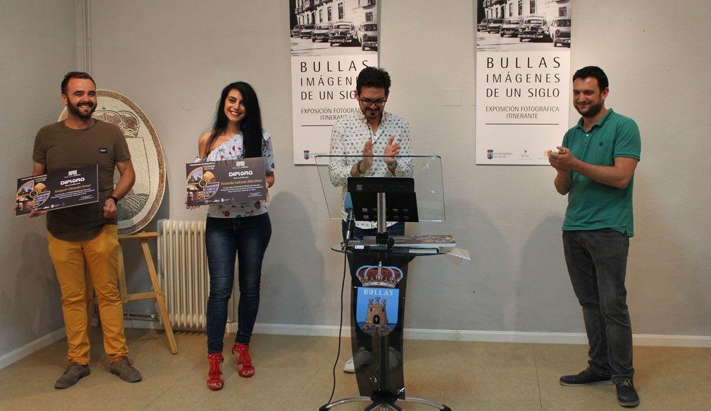 Entregados los premios de los concursos de 'Fotografía de Patrimonio' y de 'Bullas en verso'