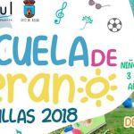 La Escuela de Verano de Bullas arranca el 25 de junio