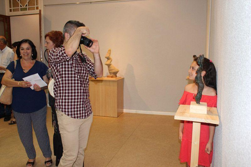 La exposición 'Ododua' de Noemí Yepes, incluida en el Plan de Espacios Expositivos, ya se puede ver en Bullas