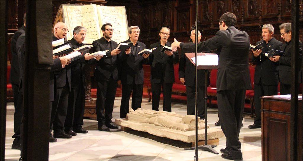 «El concierto en La Encarnación será toda una experiencia sensorial completa», Eduardo Martínez, director de la Schola Gregoriana