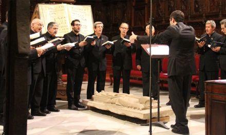 """""""El concierto en La Encarnación será toda una experiencia sensorial completa"""", Eduardo Martínez, director de la Schola Gregoriana"""
