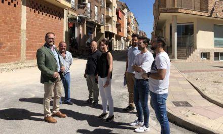 La Comunidad financia parte de la renovación de tres calles de Bullas