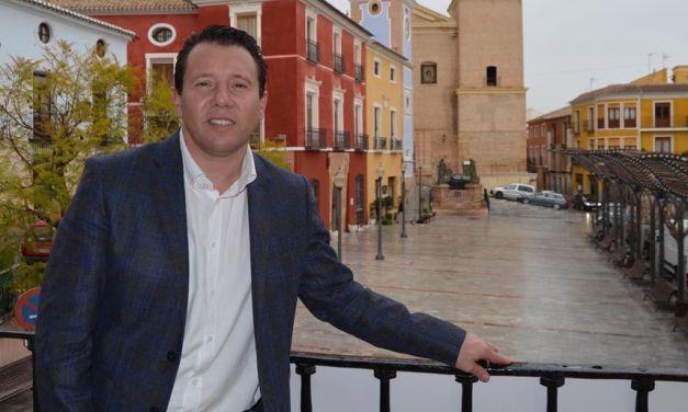 Juan Jesús Moreno, alcalde de Mula: «Seguimos pidiendo la responsabilidad de todos los muleños, seguridad ante todo»