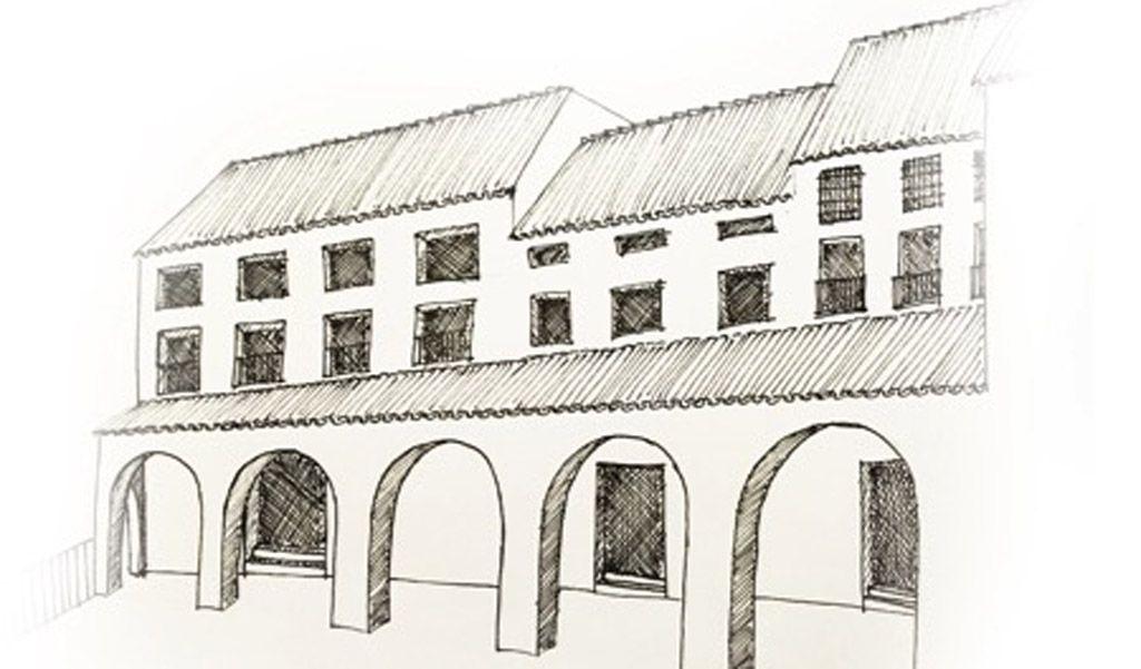 Los soportales de la plaza de Mula: un espacio público del siglo XVIII