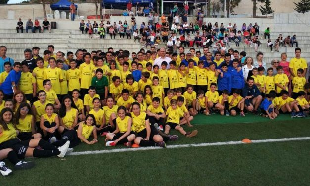 Doscientos cincuenta niños inscritos en fútbol , el deporte más demandado en Pliego