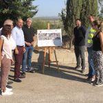La Comunidad inicia la construcción de un paseo peatonal en la carretera que conecta Albudeite con la autovía del Noroeste