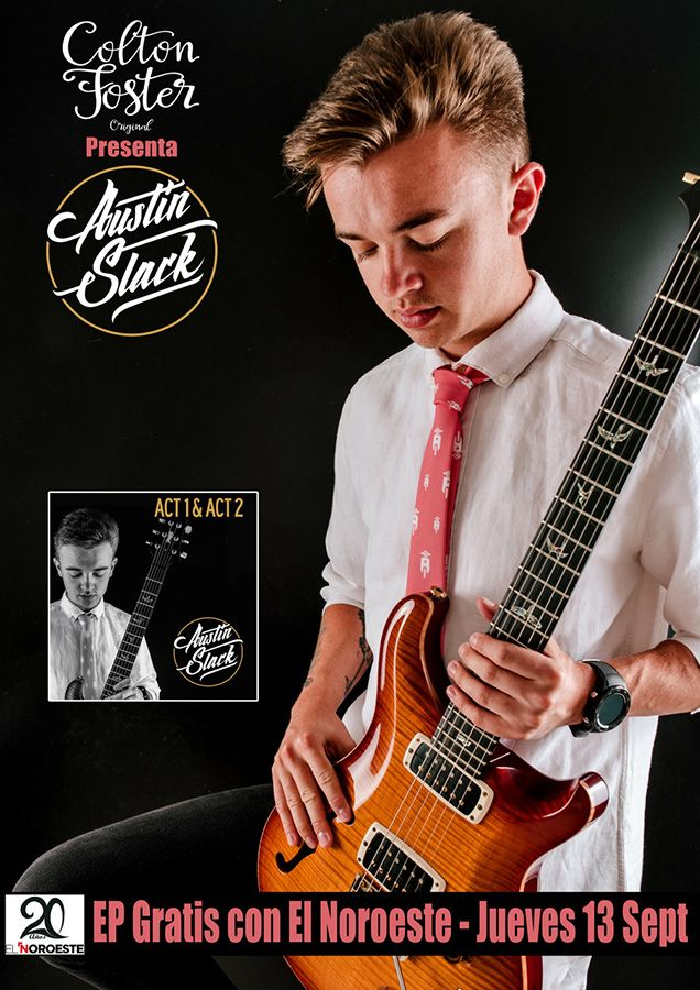 Colton Foster presenta a Austin Slack