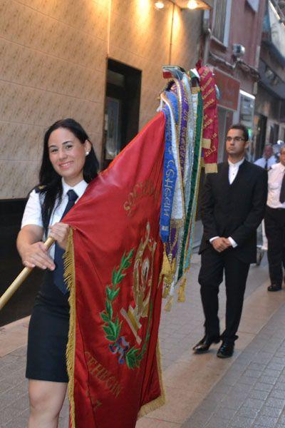 Bandera de la Sociedad Musical de Cehegín