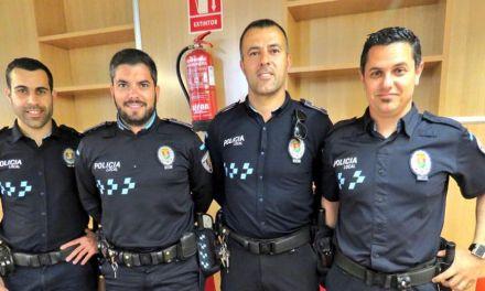 Cuatro auxiliares se convierten oficialmente en Agentes de la Policía Local de Campos del Río