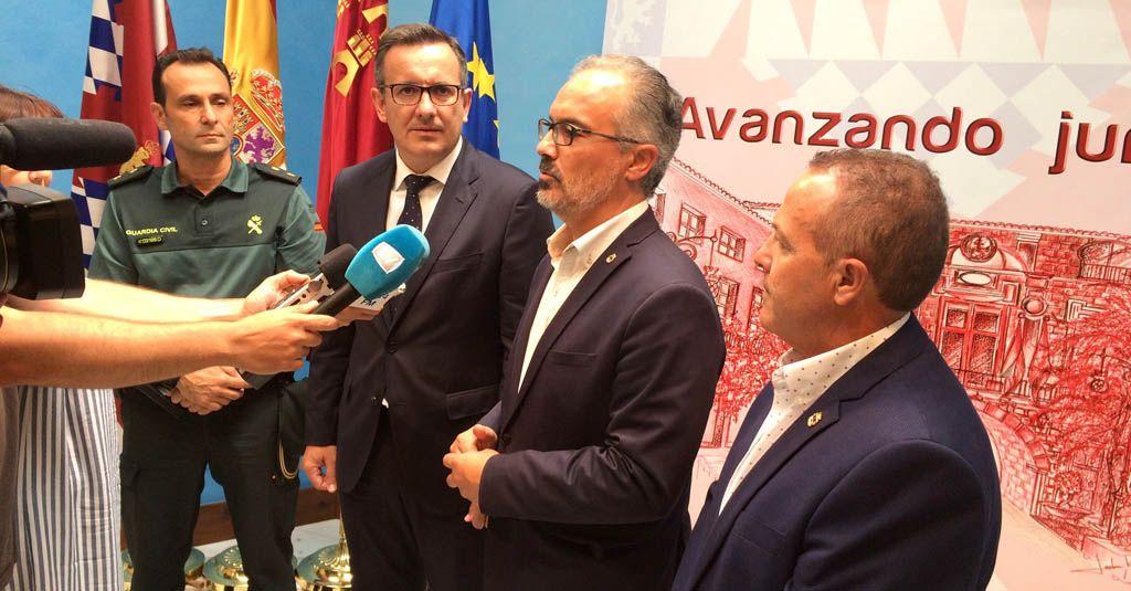 EL PP critica «el acto en Caravaca del delegado del Gobierno diseñado tan solo para las fotografías y cámaras»