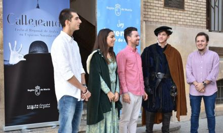 La Comunidad pone en marcha un festival regional de teatro para jóvenes en espacios singulares de la Región