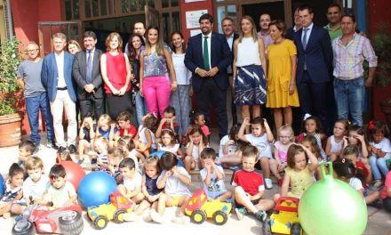 Cehegín inaugura el curso escolar 18-19 en España
