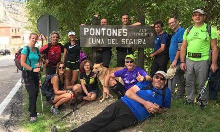 La Concejalía de Deportes de Caravaca realiza cada domingo una etapa del Camino de San Juan de la Cruz